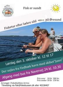 Arriva fisketur oktober 2015